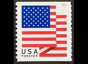 USA Amerika 2018 Neuheit Freimarken Flaggenserie