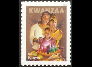 USA Amerika 2018 Nr. 5552 Schwarzamerikanisches Kwanzaa-Fest