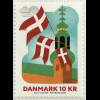 Dänemark 2019 Neuheit Rollenmarke 800 Jahre Dänische Flägge