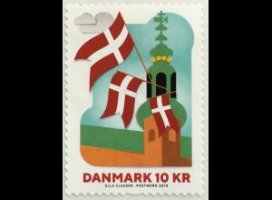 Dänemark 2019 Nr. 1963 Rollenmarke 800 Jahre Dänische Flägge