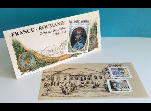 Frankreich France 2018 Block 425 General Berthelot Souvenir Philatelique Block