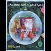 Griechenland Greece 2018 Neuheit Weihnachtsmarken Christmas Natale aus MH