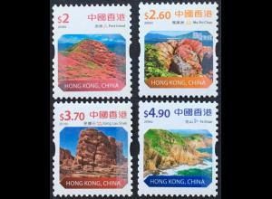 Hongkong 2018 Neuheit Freimarke Landschaften aus Rolle