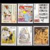 Griechenland 2005 Michel Nr. 2305-10 Karikaturen toller Briefmarkensatz