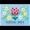 Schweden Sverige 2019 Neuheit Rollenmarke selbstklebend Handarbeit Stickmuster
