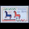 Schweden Sverige 2019 Neuheit Handarbeit Stickmuster Bogenmarke