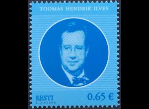 Estland EESTI 2018 Neuheit Staatsoberhäupter Estlands Toomas Hendrik live