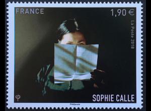 Frankreich France 2018 Michel Nr. 7189 65. Geburtstag von Sophie Calle