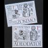 Vatikan Cittá del Vaticano 2018 Neuheit Heilige Päpste Adeodato und Zosimo
