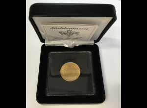 Finnland 20 Markkaa 1912 S Goldmünze inklusive Etui und Beschreibung