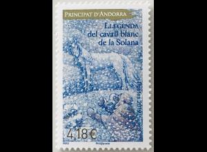 Andorra französisch 2019 Nr. 845 Legende des Schimmels Sagen und Märchen