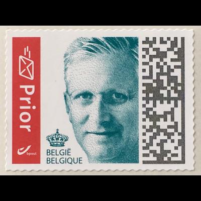 Belgien 2019 Nr. 4876 Freimarken Philippe aus Rolle selbstklebend