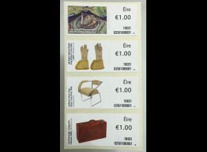 Irland 2019 Neuheit Freimarken Objekte Teil III Leac Na Riogh Nutzgegenstände
