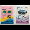 Spanien España 2019 Nr. 5316-17 Tourismus Urlaub Reiseziel Sonnenbrille Tauchen
