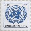 Vereinte Nationen UNO New York 2019 Neuheit Jahr des Schweins Year of the Pig