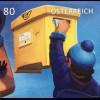 Österreich 2019 Block 103 Der Weg des Briefes Puzzleblock Briefverkehr Postbote