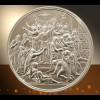 Medaille in reinem Silber Sakrament der Firmung Firmtaler mit Geschenketui