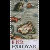 Dänemark Färöer 2019 Block 50 Die Faröer auf historischen Karten Landkarten