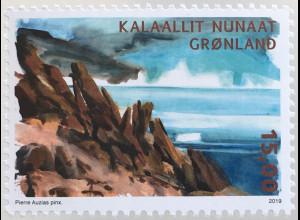 Grönland 2019 Neuheit Arktische Wüste Natur Landschaften Vegetation Gebirge