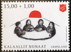 Grönland 2019 Neuheit Heilsarmee in Grönland Soziale Tätigkeit Solidarität