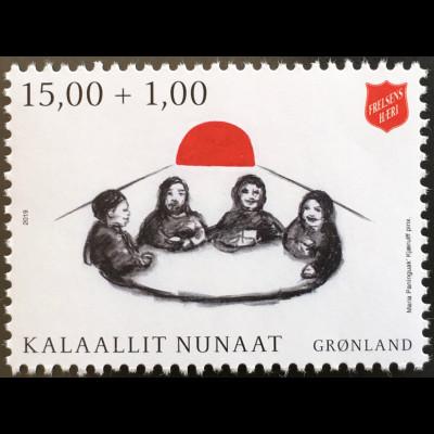 Grönland 2019 Nr. 811 Heilsarmee in Grönland Soziale Tätigkeit Solidarität