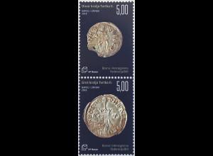 Bosnien Herzegowina Kroatische Post Mostar 2018 Neuheit Antike Münzen Numismatik