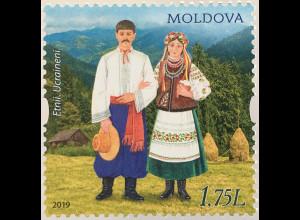 Moldawien Moldova 2019 Neuheit Ethnizität von Moldawien Trachten Folklore