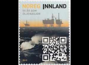 Norwegen 2019 Neuheit 50 Jahre Erdölförderung Erdölgewinnung Bodenschätze