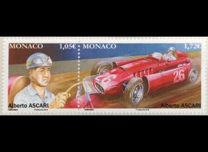 Monako Monaco 2019 Neuheit Rennsport Alberto Ascari Automobilrennfahrer