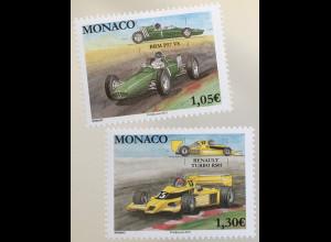 Monako Monaco 2019 Neuheit Rennwagen Rennsport Tenault Turbo BRM P57 V8