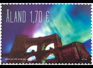 Aland 2019 Nr. 470 Polarlicht Leuchterscheinung Naturereignis in Polargebieten