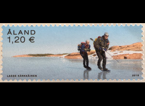 Aland 2019 Nr. 468 Schlittschuhlaufen Eissport Wintersportarten Eislaufen