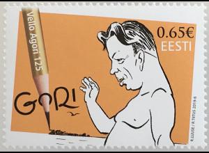 Estland EESTI 2019 Nr. 948 125 Jahre Gori Zeichnungen Karikaturen