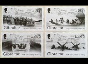 Gibraltar 2019 Neuheit 75. Jahrestag D-Day Befreiung Zweiter Weltkrieg (1939-45)