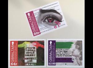 Gibraltar 2019 Neuheit Internationaler Frauentag Frauenrechte Equal Pay