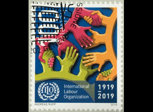 Schweiz 2019 Nr. 2613 100 Jahre Internationale Arbeitsorganisation ILO in Genf