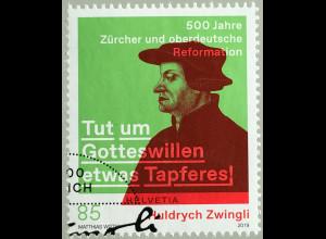 Schweiz 2019 Nr. 2608 Huldrych Zwingli - Zürcher und oberdeutsche Reformation