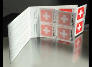 Schweiz 2019 MH 2598-99 Pro Patria Schweizer Fahne Freistehendes weisses Kreuz