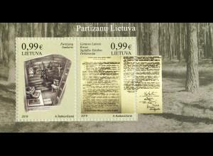 Litauen Lithuania 2019 Block 63 Kämpfe der Unabhängigkeit Litauens