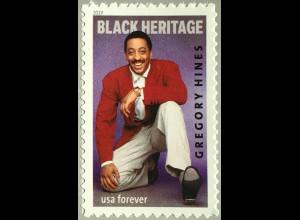 USA Amerika 2019 Michel Nr. 5565 Schwarzamerikanisches Erbe: Gregory Hines