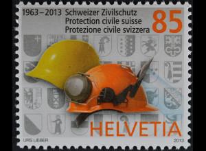 Schweiz 2013 Michel Nr. 2285 ** postfrisch, 50 Jahre Schweizer Zivilschutz