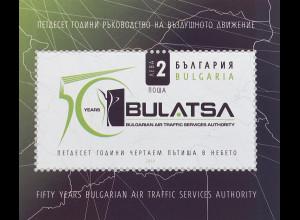 Bulgarien 2019 Block 469 50 Jahre Verwaltung und des Luftverkehrs