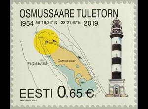Estland EESTI 2019 Nr. 950 Leuchtturm Tuletom Turm mit Befeuerung