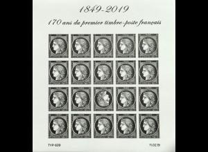 Frankreich France 2019 Michel Nr. 7279-80 Philatelistischer Frühjahrssalon Ceres