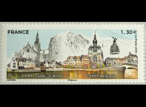 Frankreich France 2019 Nr. 7260 Städtepartnerschaft zwischen Dinan und Dinant