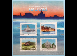 Frankreich France 2019 Block 427 Helsinki – Europäische Kulturhauptstadt Dom