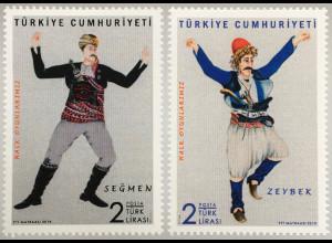 Türkei Turkey 2018 Neuheit Türkische Folkloretänze Traditioneller Tanz Kultur