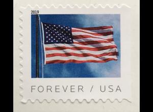 USA Amerika 2019 Neuheit Freimarkenserie Flaggen aus Markenheft