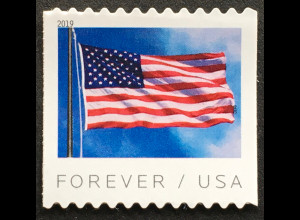 USA Amerika 2019 Neuheit Freimarkenserie Flaggen aus Rolle