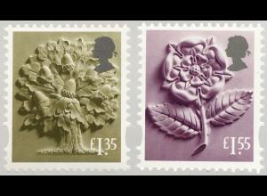 Großbritannien 2019 Regionalmarke England Neuheit Landeswahrzeichen